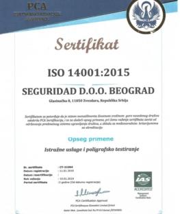 Seguridad-sertifikat-iso-14001